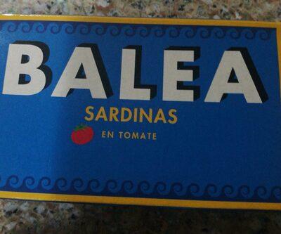 Sardinas en tomate BALEA