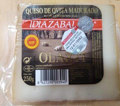 Queso de oveja madurado Idiazabak