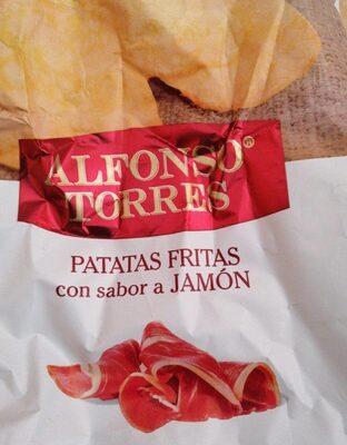 Patatas fritas con sabor jamón
