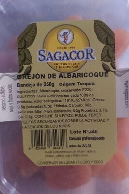 OREJON DE ALBRICOQUE