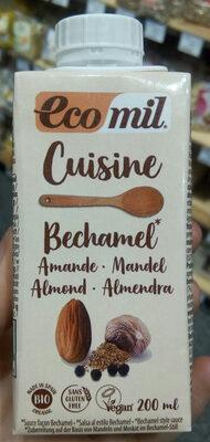 Cuisine Bechamel De Almendras Bio Ecomil Nutriops