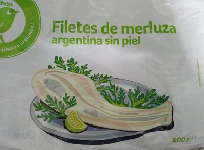 Filetes de merluza Argentina sin piel