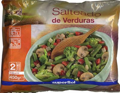 Salteado de verduras congelado SuperSol