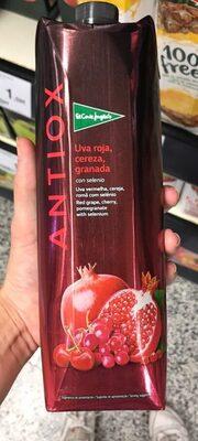 Antiox bebida refrescante de zumo de uva roja,