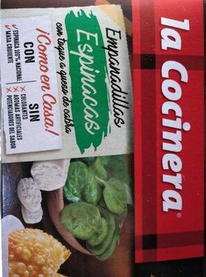 Empanadillas espinacas con queso de cabra