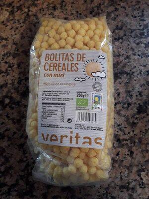 Bolitas De Cereales Con Miel Eco Veritas 250G