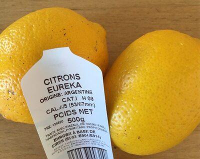 Citrons jaune