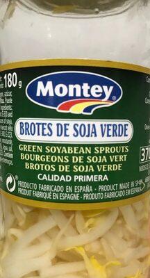 Brote de soja verde