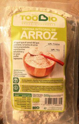 Harina integral de arroz