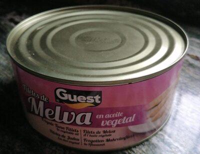 Filetes de melva en aceite vegetal