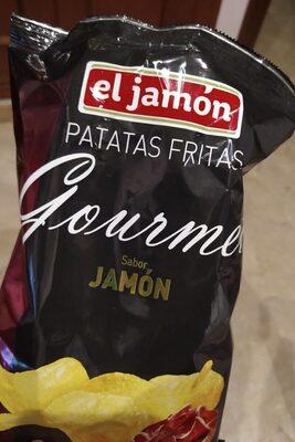 Patatas fritas groumet sabor jamón