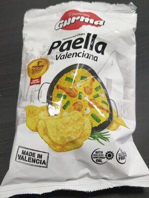 Flavoured chips Paella Valenciana
