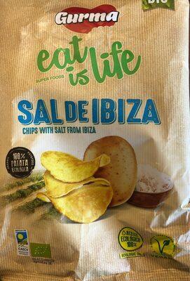 patatas fritas ecologicas gurma con sal de ibiza