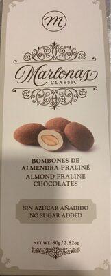 Bombones de Almendra Praliné