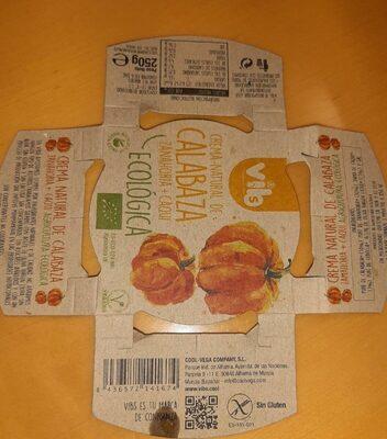 Crema Natural de calabaza, zanahoria y caqui