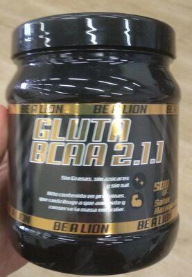 GLUTAMINA + BCAA 500 GR SABOR NARANJA LIMON