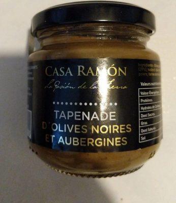 Tapenade d'olives noires et aubergines