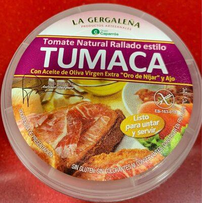 Tomate natural rallado Tumaca