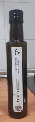 Artajo. Aceite de oliva virgen extra. BIO. Arbequina.