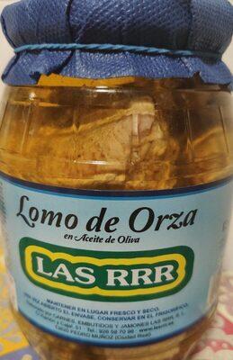 Lomo de orza en aceite de oliva