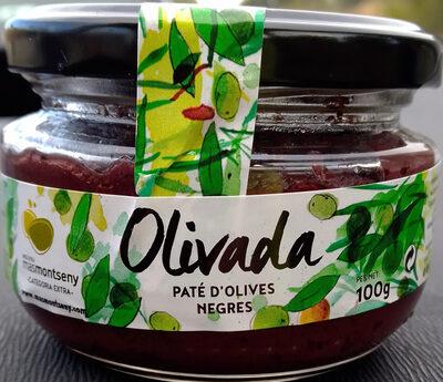 Olivada - Paté d'olives negres