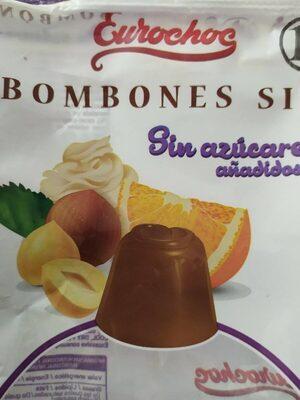 Bombones sin azucares añadidos