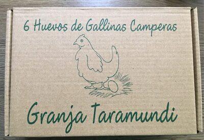 6 Huevos de Gallinas Camperas
