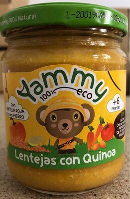 Tarrito Yammy Lentejas con Quinoa