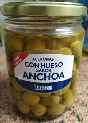 Aceitunas con sabor anchoa