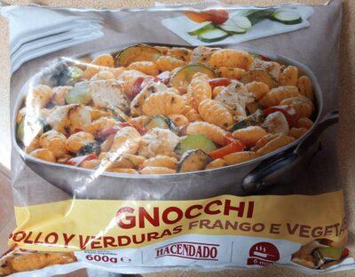 Gnocchi Pollo y Verduras