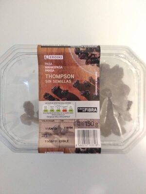 Frutas desecadas Pasa Thompson