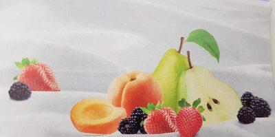 Yogur con trocitos de fruta