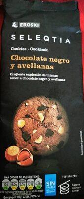 Seleqtia - Cookies chocolate negro y avellanas