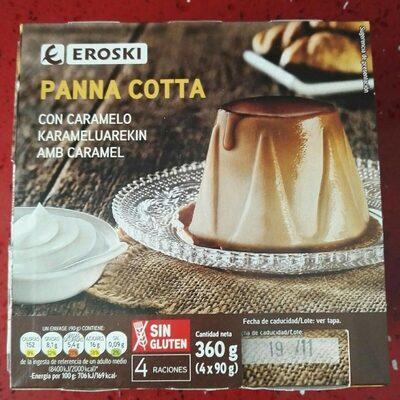 Panna Cottacon caramelo