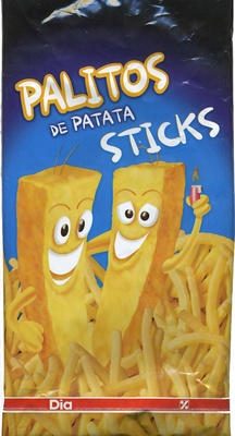 Sticks de patata batata