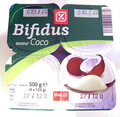 Bifidus saveur Coco