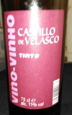 Vino tinto castillo de Velasco
