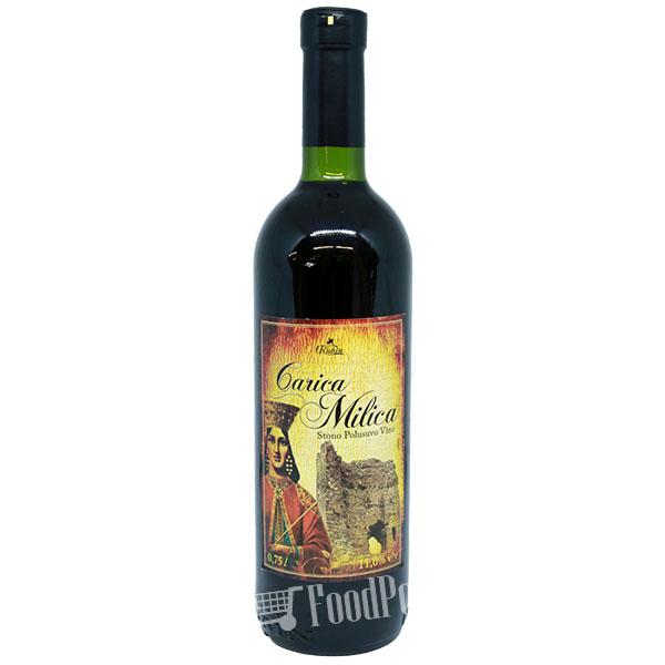 Carica Milica - Red Wine Semi-Dry
