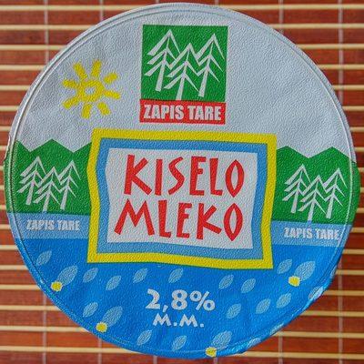 Kiselo mleko sa 2.8% m.m.
