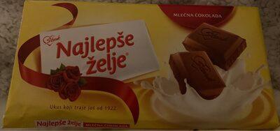 Najlepse Zelje Milk Chocolate