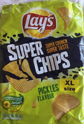 Super chips pickles flavour (XL size)