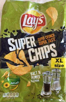 Super chips salt 'n pepper flavour