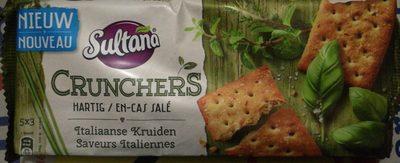 Sultana Crunchers Hartig Italiaanse Kruiden