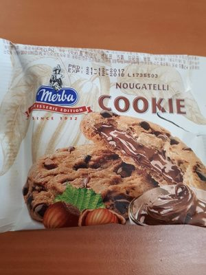 Nougatelli cookie