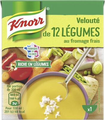 Knorr Soupe Velouté de 12 Légumes au Fromage Frais 30cl