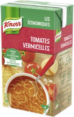 Knorr Soupe Tomates Méditerranéennes Vermicelles 1l