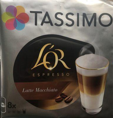 Tassimo L'or Espresso Latte Macchiato Pods X8