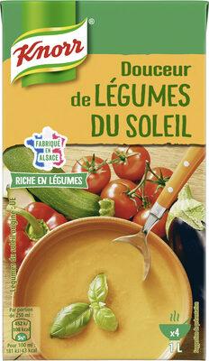 Knorr Riche en Légumes Soupe Liquide Douceur de Légumes du Soleil 1l