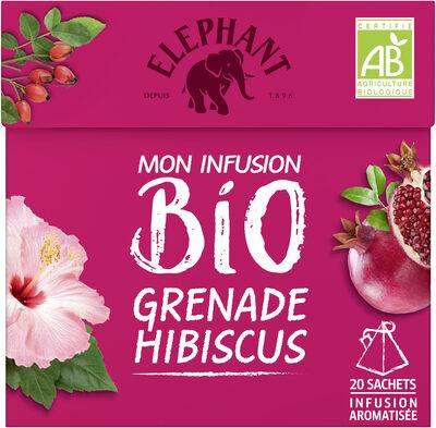 Elephant Bio Mon Infusion Grenade Hibiscus 20 Sachets