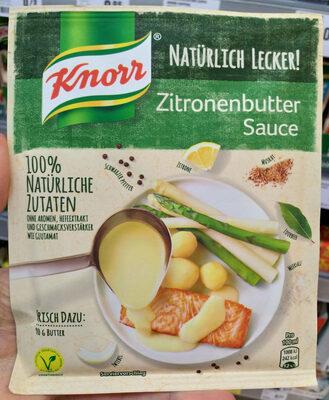 Zitronenbutter sauce